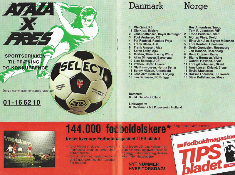83c32582b4c Danmark - Rumænien den 15. april 1981